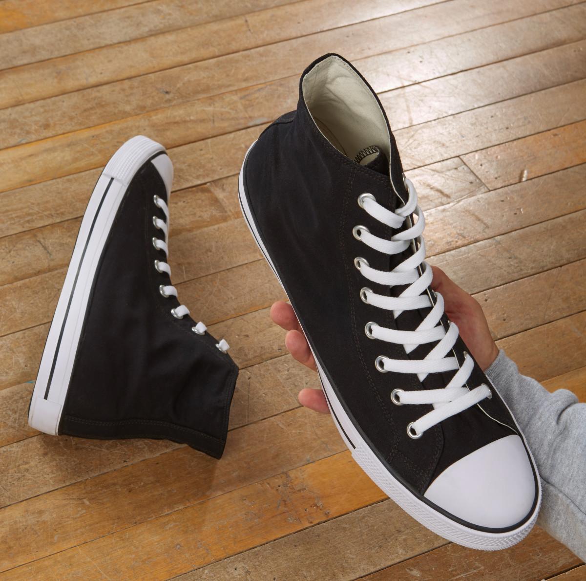 SG Footprints Adult High Top Shoe -1