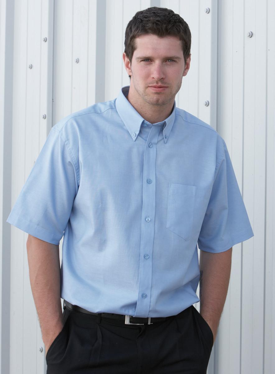 Short Sleeve Cotton/Polyester Oxford Shirt