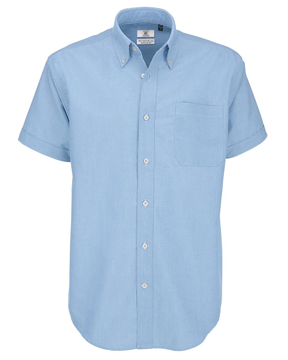 Men's Oxford Short Sleeve Shirt