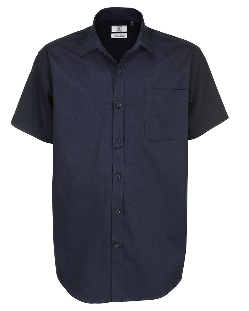 Men's Sharp Twill Short Sleeve Shirt