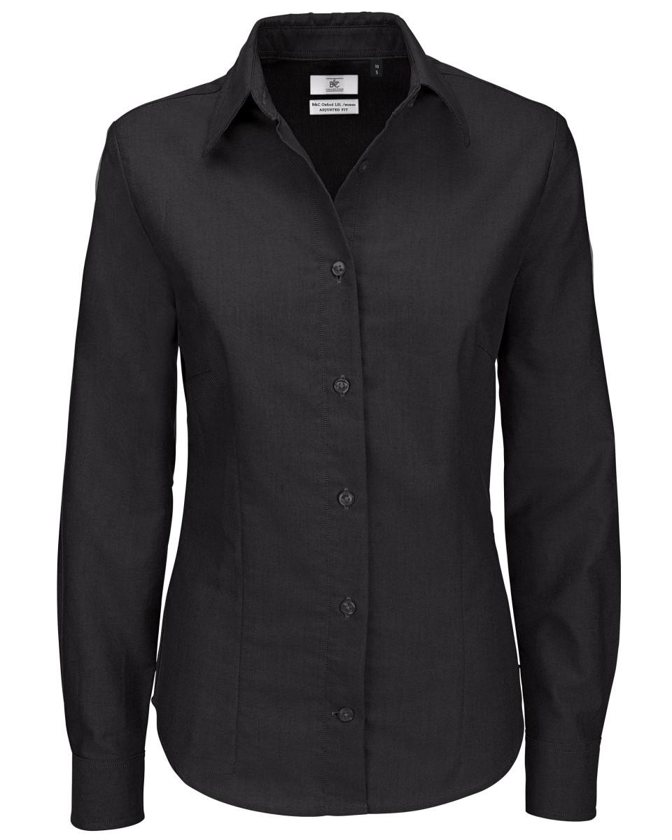 Ladies Oxford Long Sleeve Shirt