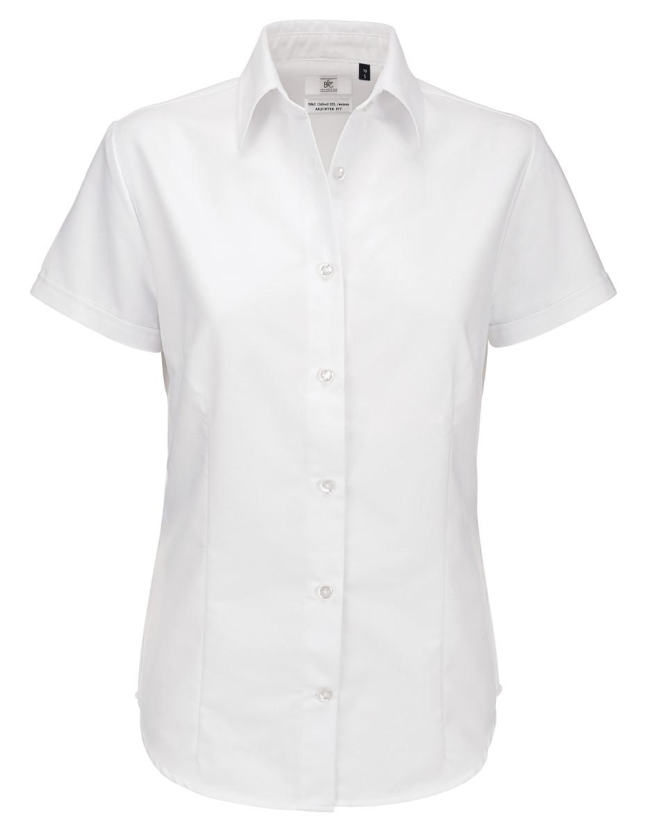 Ladies' Oxford Short Sleeve Shirt