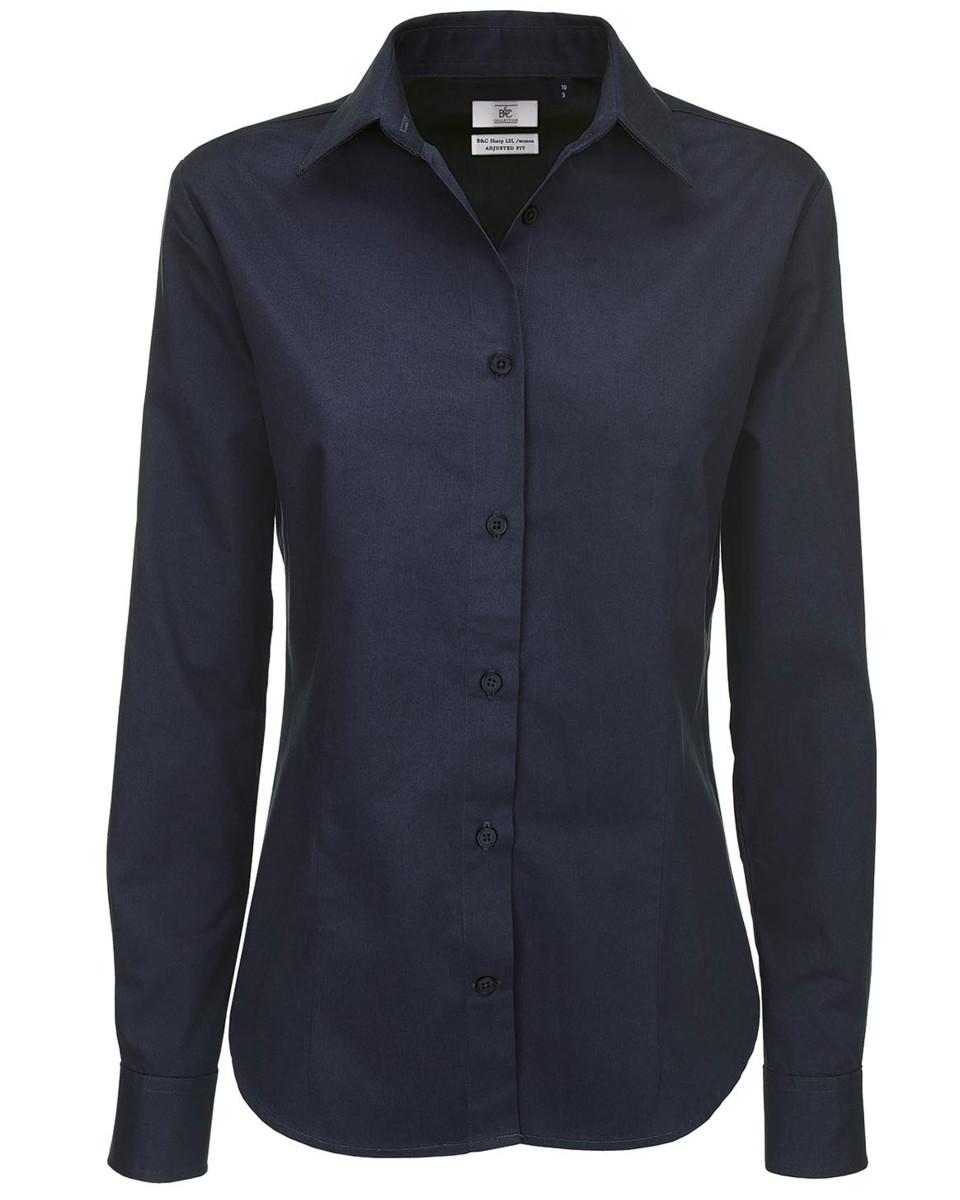 Ladies' Sharp Twill Long Sleeve Shirt