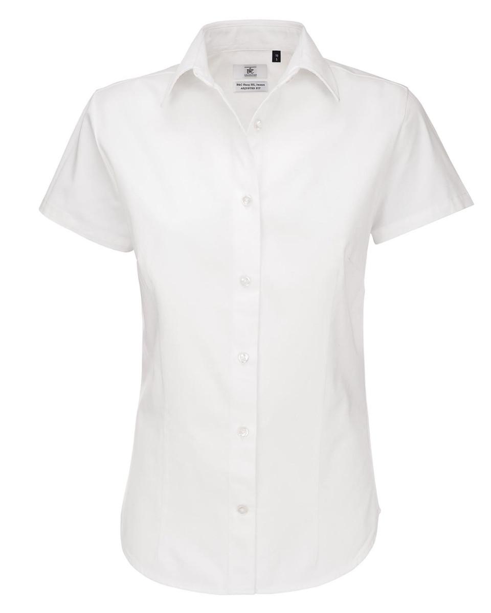 Ladies' Sharp Twill Short Sleeve Shirt