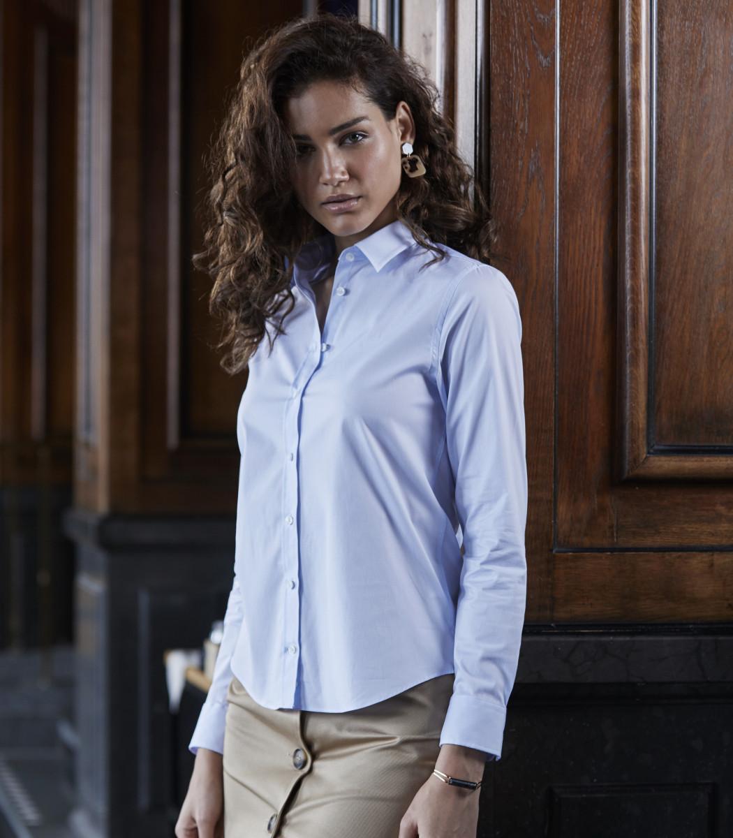 Tee Jays Ladies Luxury Stretch Shirt