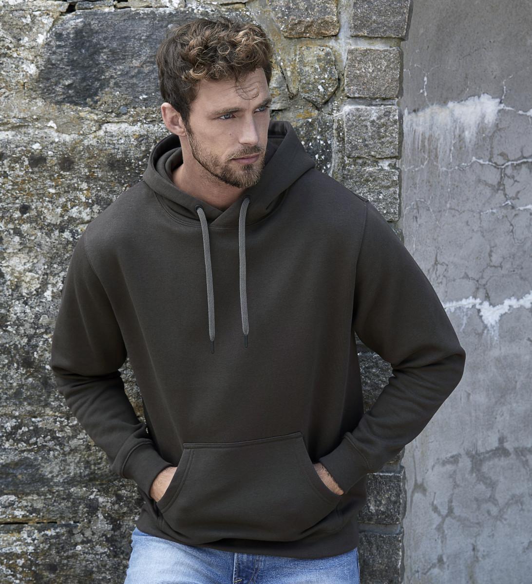 Tee Jays Mens Hooded Sweatshirt