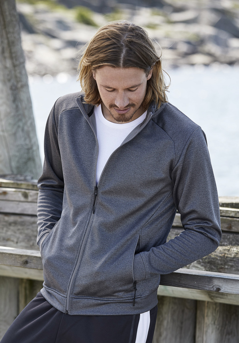 Tee Jays Mens Performance Zip Sweat