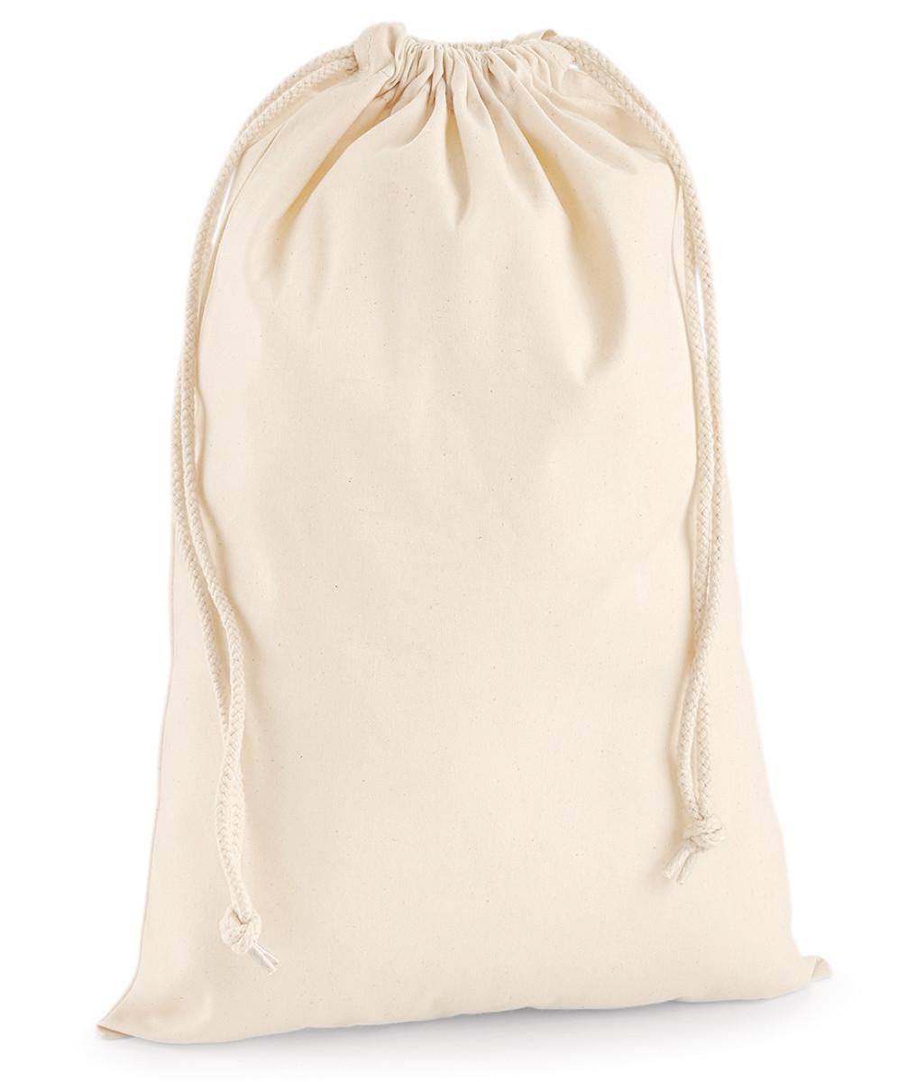 Westford Mill Premium Cotton Stuff Bag