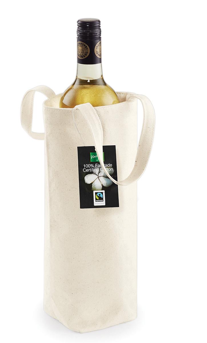 Westford Mill Cotton Bottle Bag