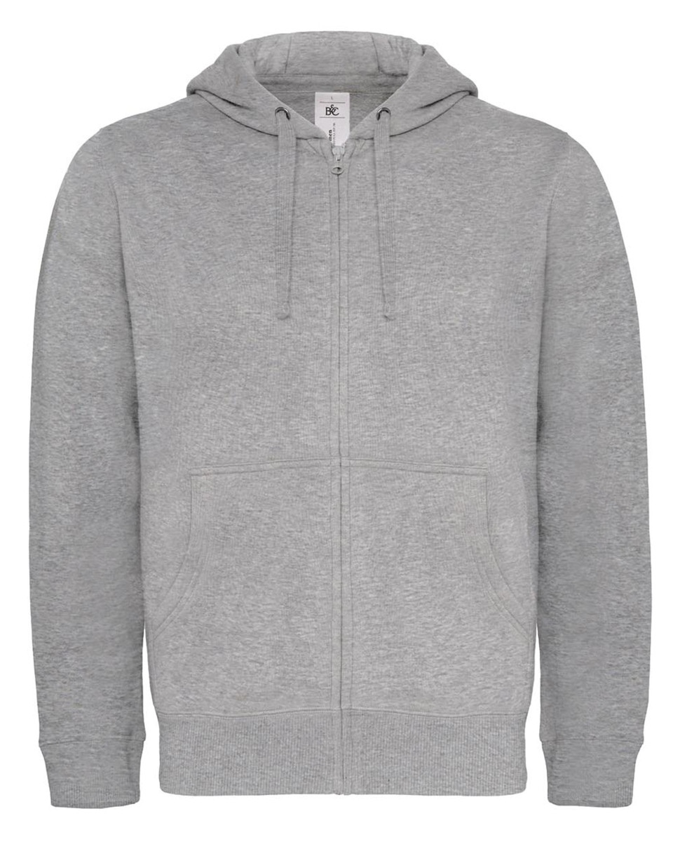 B&C Hooded Mens Full Zip