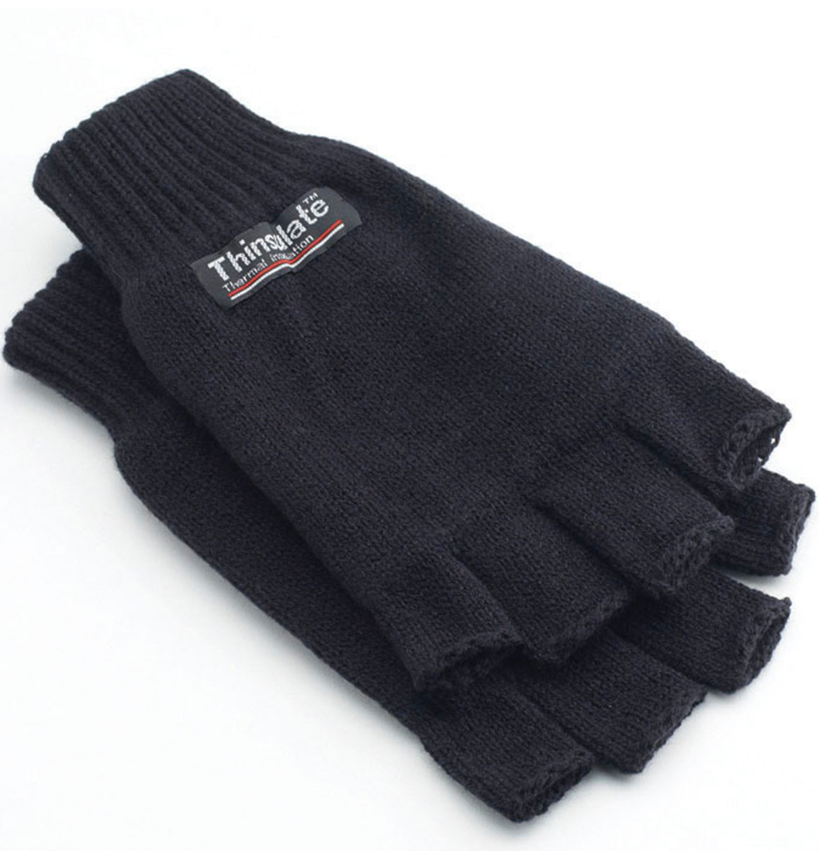 3M Thinsulate Half Finger Gloves