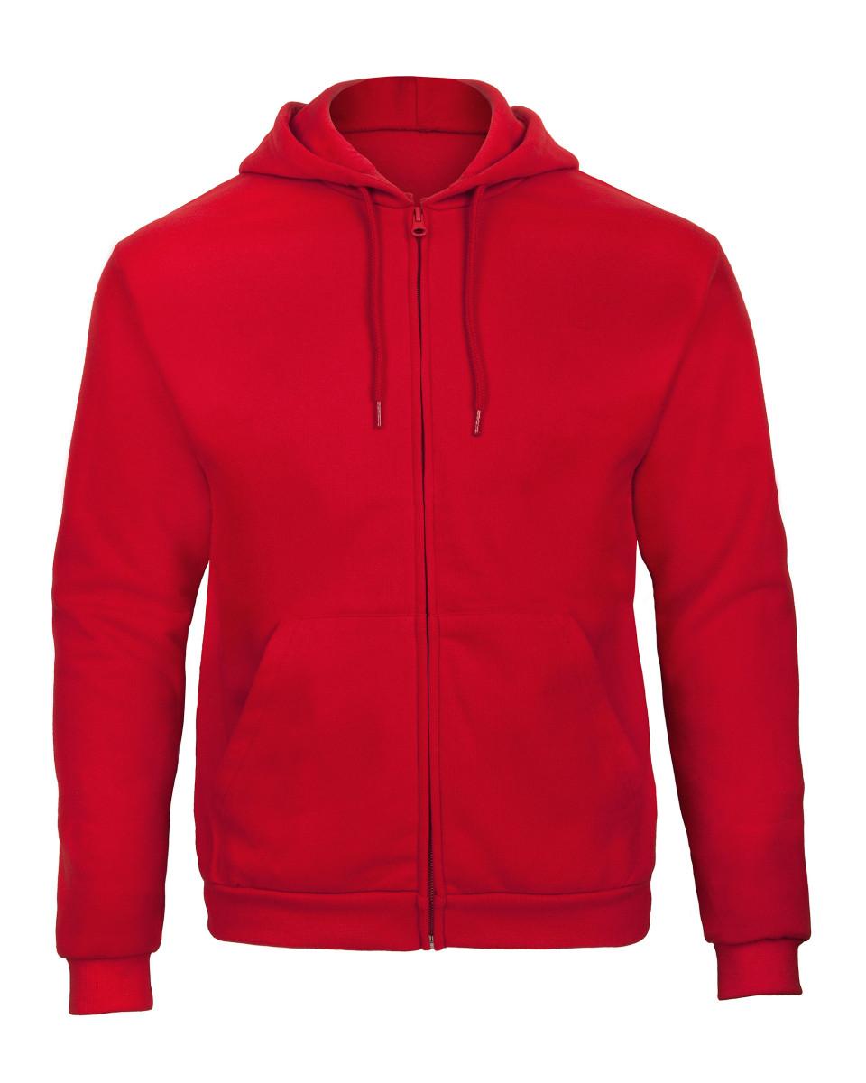 B&C ID205 50/50 Full Zip Hooded Sweat
